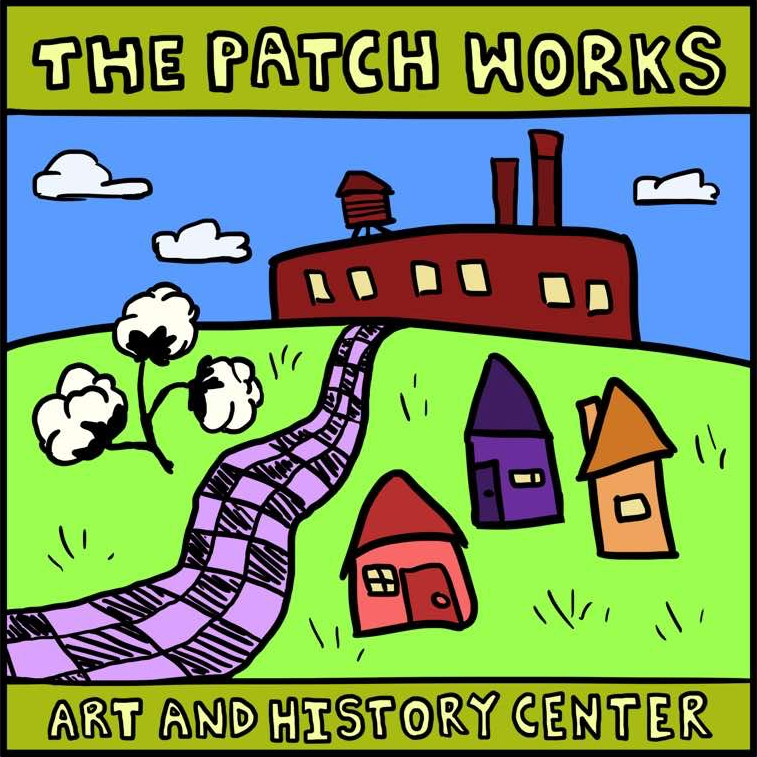 Logo for The Patch Works Art & History Center